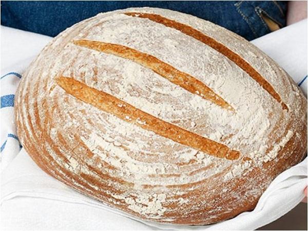 Хлеб на сливках с семенами подсолнуха