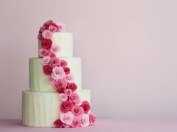 Свадебный торт - 3 уровня